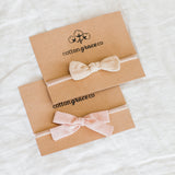 We love these bows from Cotton Grace Co!!