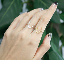 Deer Antler Ring