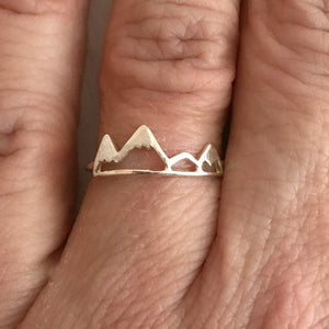 Moving Mountains Ring