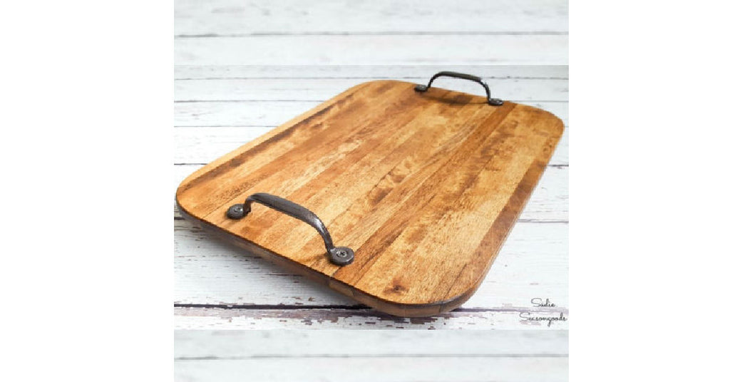 Upcycling Cutting Board into Serving Tray