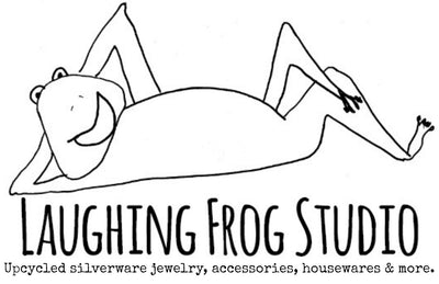 Laughing Frog Studio Upcycled Silverware Jewelry, Accessories, Housewares & More.