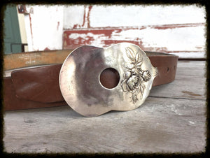 Spoon Belt Buckle - #1306