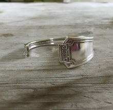 Cuff Bracelet from Upcycled Spoon Handle