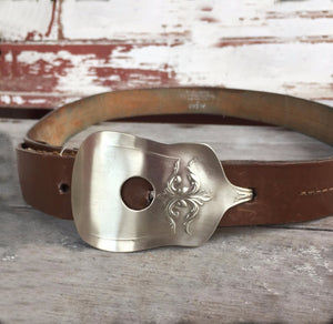 Spoon Belt Buckle - #2094