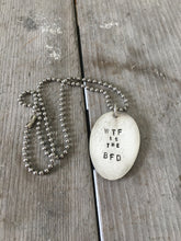 Stamped Spoon Necklace - WTF IS THE BFD?