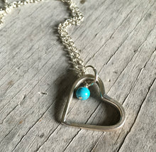 Fork Tine Heart Necklace - #3502