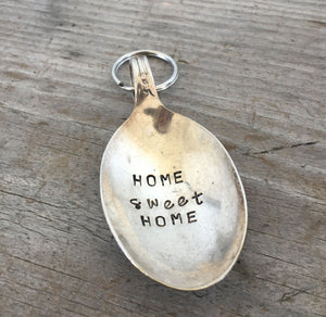 Spoon Key Chain - HOME SWEET HOME - #3685