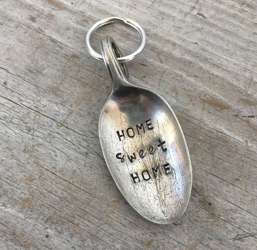 Spoon Key Chain - HOME SWEET HOME - #3743