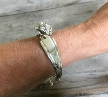 Spoon Link Bracelet Shown On Model Arm