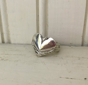 Vintage William Rogers Avalon Spoon Made into a spoon ring