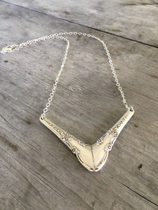 Spoon Chevron Necklace - ENCHANTMENT- #3985