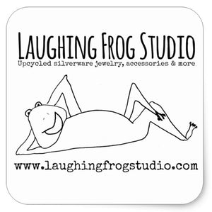 "Laughing Frog Studio Stickers - 3"" sheet of 6"
