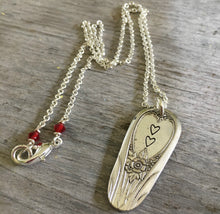 Spoon Necklace - Hearts - #4019