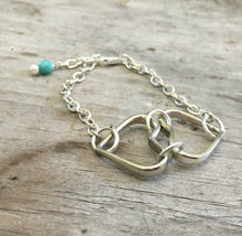 Two Hearts Bracelet Made from four fork tines
