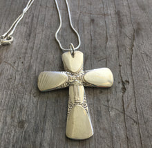 Spoon Cross Necklace - BOUQUET -  #4297