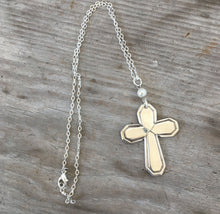 Spoon Cross Necklace - MAYFAIR - #4298