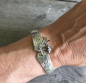 Spoon Bracelet Community Fortune Shown on Wrist