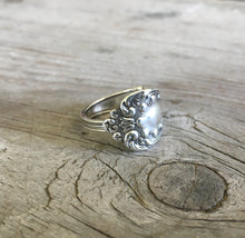 Sterling Spoon Ring - #4348