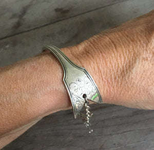Arrow Bracelet - Upcycled Spoon Jewelry - #4471
