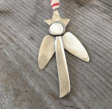 Artisan Angel Ornament - Upcycled Silverware Pieces - #4549