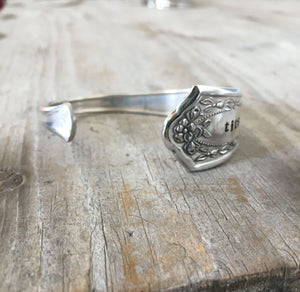 Spoon Cuff Bracelet - TITS UP - #4615