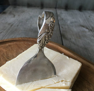 Charcuterie Board Cheese Knife from Eco-Friendly Recycled Vintage Spoon