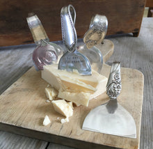 Collection of Spoon Cheese Knives from Upcycled SIlverplate Spoons