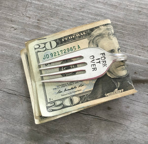 Fork Money Clip - FORK IT OVER - #3778