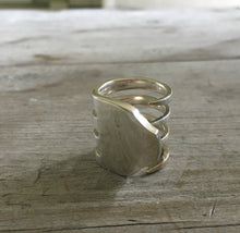 Upcycled Silverware Jewelry Fork Ring