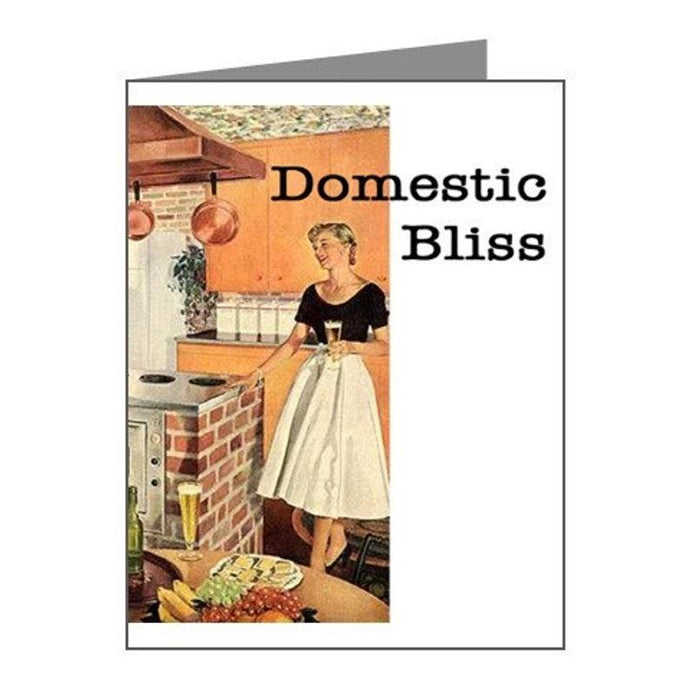 Greeting Card - Domestic Bliss