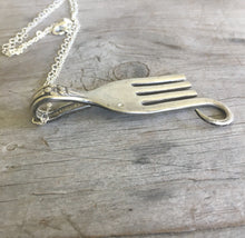 Fork Elephant Necklace - #4460