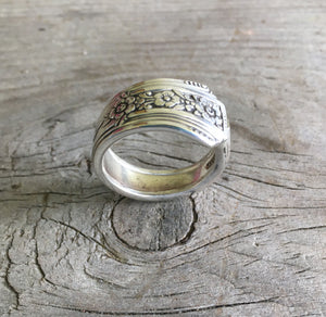 Handmade Spoon Ring Community Fortune