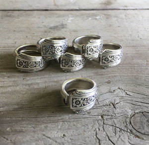 Group  of Spoon Rings Community Fortune