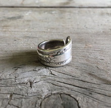 Handmade Spoon Ring Camellia
