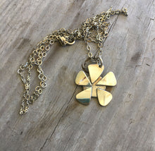 Back of Spoon Bowl Flower Necklace