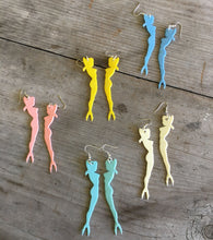 Pinup Cocktail Fork Earrings - Various Colors