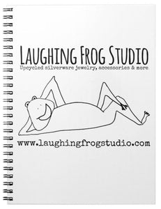 Laughing Frog Studio Spiral Notebook