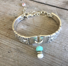 Handmade Spoon Bracelet Coronation Pattern