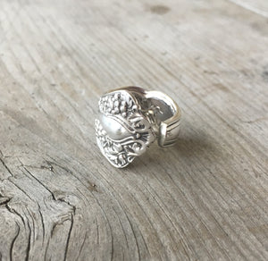 Spoon Ring - GRAPES - VINTAGE