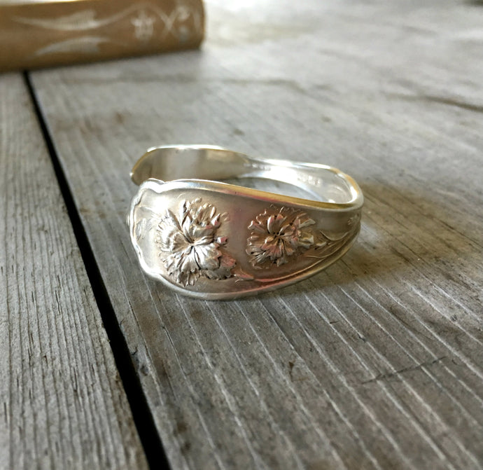 Spoon Cuff Bracelet - CARNATION - #4036