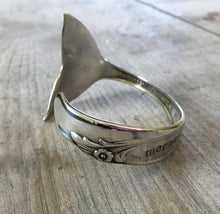 Mermaid Soul Cuff Bracelet on Rogers Brothers Exquisite Spoon