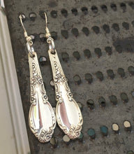 Upcycled Silverware Earrings Made from Enchantment Spoons