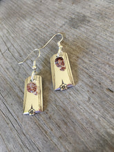 Upcycled Silverware Earrings Made from King Arthur Spoons