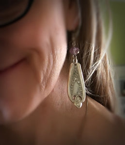 Spoon Earrings - OLD COLONY - #3784