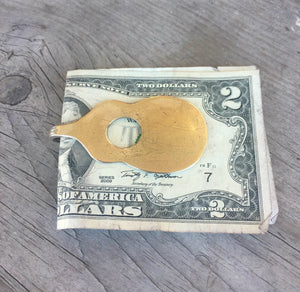 Spoon Money Clip - Guitar - #1695