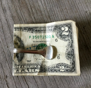 Spoon Money Clip - OVAL - BRIBE - #2082