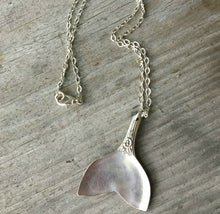 Spoon Whale Tail Necklace - #4155