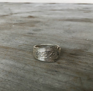 Upcycled Silverware Jewelry Spoon Ring