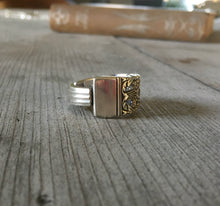 Handmade Spoon Ring Coronation Size 8 3726
