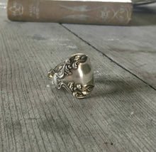 Spoon Ring Crest Size 11 3913